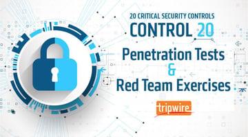 CISコントロール20: ペネトレーションテストとレッドチームの訓練