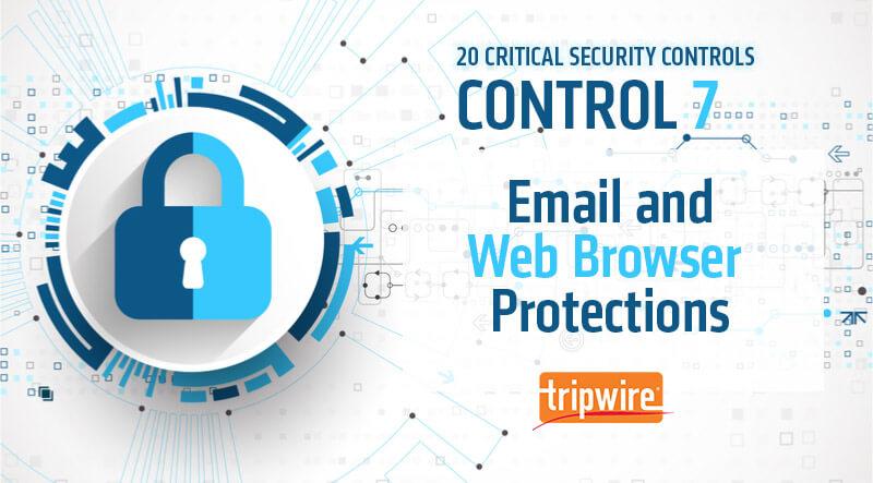 CISコントロール7:電子メールと Web ブラウザの保護